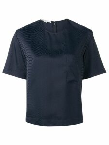 Stella McCartney scale effect top - Blue