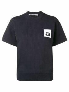Alexander Wang logo tag top - Black