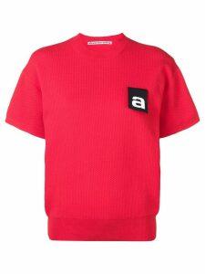 Alexander Wang logo tag top - Red