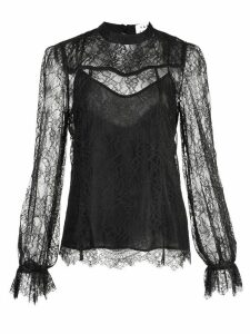 Tanya Taylor Lois long sleeved blouse - Black
