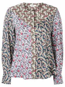 Isabel Marant Étoile panelled print blouse - Pink