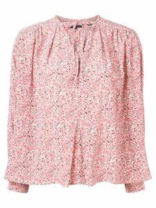 Isabel Marant flower pattern Amba top - Pink