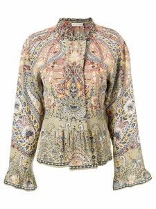 Etro paisley-print blouse - Green