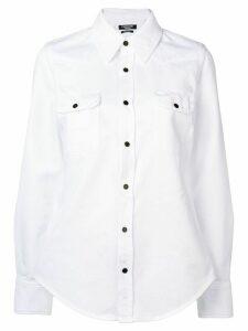 Calvin Klein 205W39nyc oversized style shirt - White