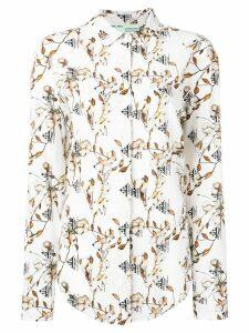 Off-White cotton flower shirt