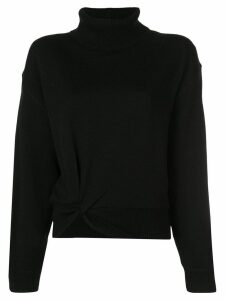 T By Alexander Wang knotted jumper - Black