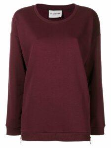 Roqa loose fit sweatshirt - Red
