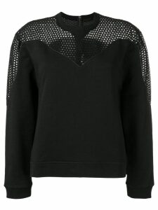 Diesel Black Gold perforated sweatshirt