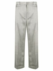 Theory straight leg trousers - Grey