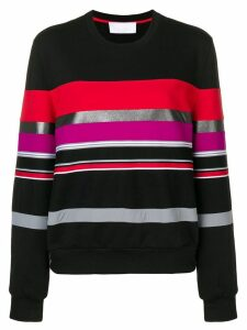 No Ka' Oi striped sweater - Black