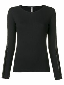 No Ka' Oi longsleeved top - Black
