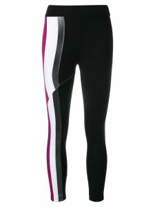 No Ka' Oi side stripe leggings - Black