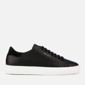 Axel Arigato Women's Clean 90 Leather Cupsole Trainers - Black