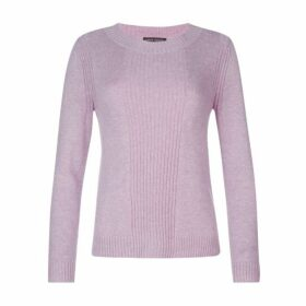 Lilac Ribbed Detail Jumper