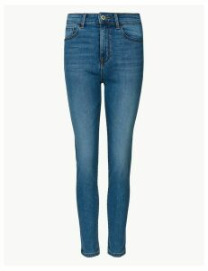 M&S Collection Mid Rise Cigarette Jeans