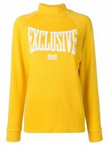 Roseanna mock neck sweatshirt - Yellow