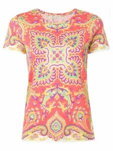 Etro bohemian print T-shirt - Pink