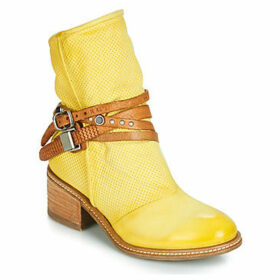 Airstep / A.S.98  WINNIE STRAP  women's Mid Boots in Yellow