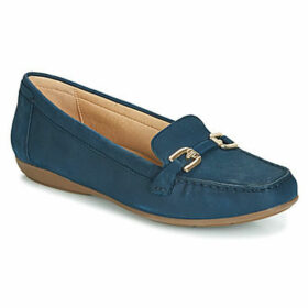 Geox  D ANNYTAH MOC  women's Loafers / Casual Shoes in Blue