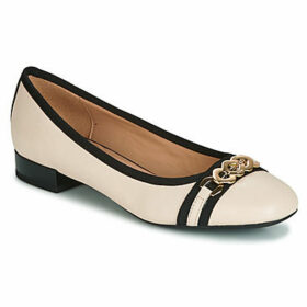 Geox  D WISTREY  women's Shoes (Pumps / Ballerinas) in Beige