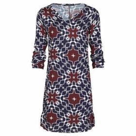 Mado Et Les Autres  Arty printed dress  women's Dress in Black