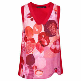 Mado Et Les Autres  Trendy tank top  women's Blouse in Red
