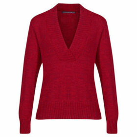 Mado Et Les Autres  Warm and modern sweater  women's Blouse in Red