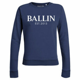 Ballin Est. 2013  Basic Lady Sweat  women's Sweatshirt in Blue