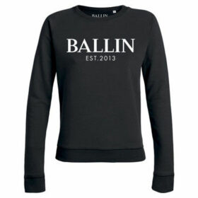 Ballin Est. 2013  Basic Lady Sweat  women's Sweatshirt in Black