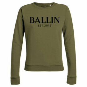 Ballin Est. 2013  Basic Lady Sweat  women's Sweatshirt in Green