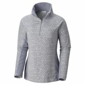 Columbia  Glacial IV Print  women's Fleece jacket in Grey