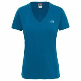 The North Face  Tshirt Simple Dome  women's T shirt in Blue