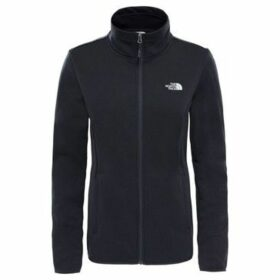 The North Face  Tanken Full Zip Jacket  women's Sweatshirt in Black