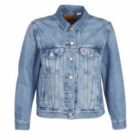 Levis  EX-BOYFRIEND TRUCKER  women's Denim jacket in Blue