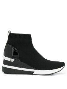 Michael Michael Kors Skyler high-top sneakers - Black
