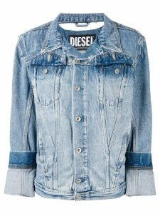 Diesel slim fit denim jacket - Blue