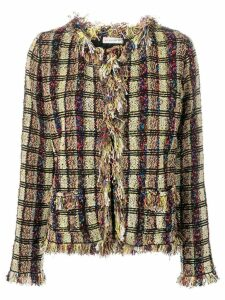 Etro tweed-knit cardigan - Green