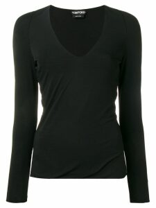 Tom Ford draped hem sweatshirt - Black