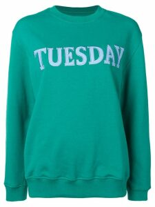 Alberta Ferretti 'Tuesday' sweatshirt - Green