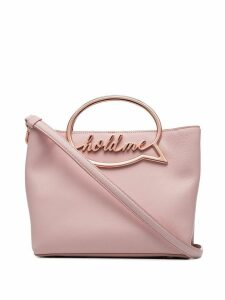 Sophia Webster Hold Me speech bubble leather shoulder bag - Pink