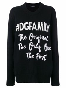 Dolce & Gabbana #DGFAMILY jumper - Black