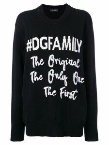 Dolce & Gabbana #DGFAMILY jumper - Black