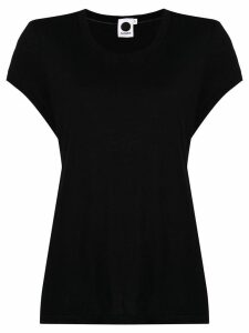 Bassike cap sleeves T-shirt - Black