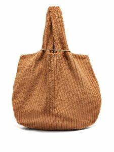 Albus Lumen - Sensillo Jumbo Cotton Corduroy Bag - Womens - Brown