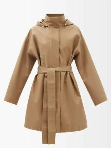 Figue - Maja Geometric Print Cotton Shorts - Womens - Pink