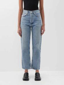 Zeus + Dione - Astypalaia Slubbed Silk Midi Dress - Womens - Ivory Multi