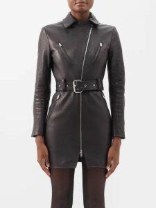 Love Binetti - Striped Cotton Midi Dress - Womens - Black Stripe