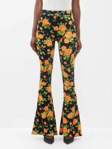 Belize - Striped Cotton Dress - Womens - Red Multi