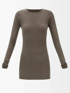 Emilia Wickstead - Ines Python-print Linen Skirt - Womens - Yellow