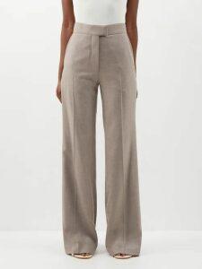 Melissa Odabash - Freya Printed Wrap Mini Dress - Womens - Green Print